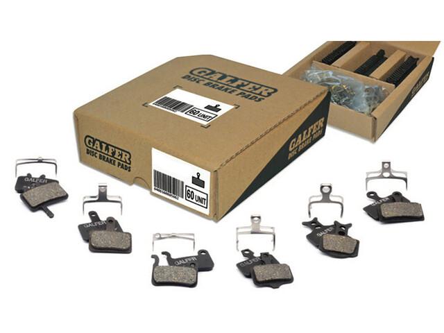 GALFER BIKE Saving Pack Standard Brake Pads 30 Sets for AVID X0 Trail 7/9/Guide R/RS/RSC/Ultimate/SRAM Guide/G2